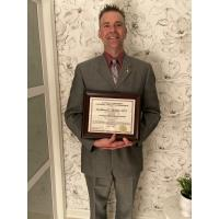 Matthew Musket, PT, DPT of Community Health & Dental Care Receives Clinical Excellence Award from Alvernia University Physical Therapy Department