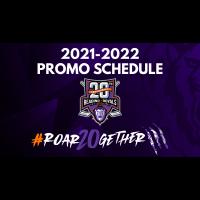 Royals unveil 2021-22 promotional schedule