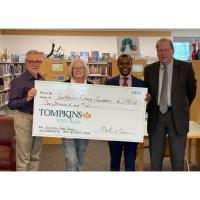 TOMPKINS VIST BANK SUPPORTS EASTTOWN LIBRARY PROGRAMS
