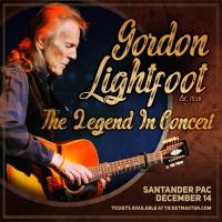 Gordon Lightfoot is coming to Reading, PA this December!