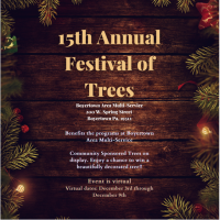 15th Annual Festival of Trees- Save the Date!