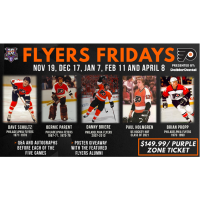 Royals announce Flyers Fridays, Parent and Briere headline star-studded lineup