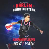 Harlem Globetrotters at Santander Arena Feb. 17th