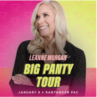 Outback Presents is pleased to announce comedian Leanne Morgan's- Santander Arena
