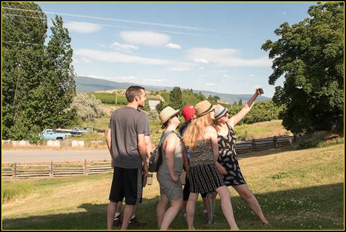 Group_Selfie_at_Estate_Thurn_Bodega_Winery_Summerland