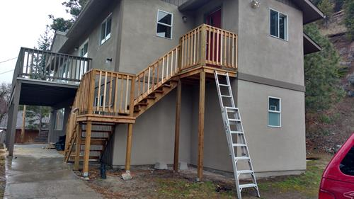 Stairway replacement