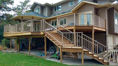 Large deck rebuild