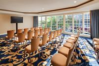 Our Catalina Room meeting space is ideal for intimate gatherings, and features floor-to-ceiling windows for abundant sunshine.