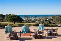 Breathtaking outdoor event spaces feature stunning, panoramic views of the Pacific Ocean.