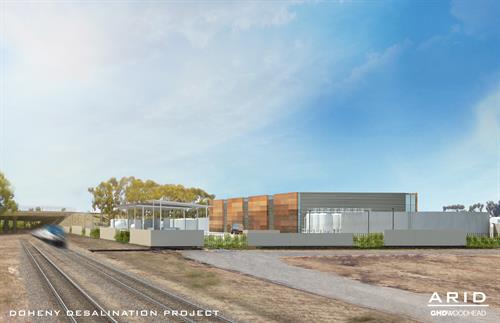 Rendering of the Doheny Desalination Facility