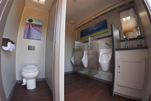 Event 7 Stall Restroom Suite - Men's side