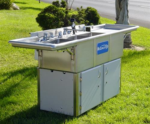 Event Three Compartment Sinks