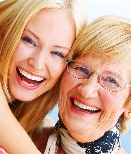 Be a daughter and spend quality time with your loved one. We will do the rest.