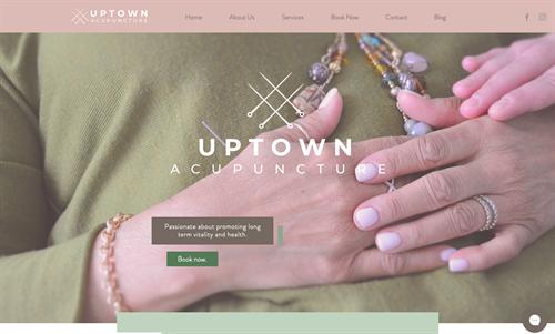 Uptown Acupuncture Website + Branding