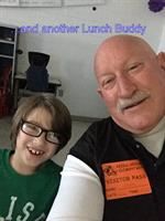 Reeds Spring volunteer and his Lunch Buddy