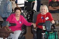 2017 April Volunteer Appreciation Day at SDC~ 2 of the 10-year volunteers, Wilma Wiley and Sarah Moulin