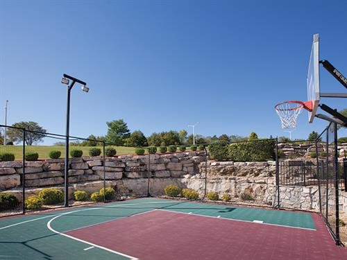 Branson MO, Wyndham Mountain Vista - Basketball Court