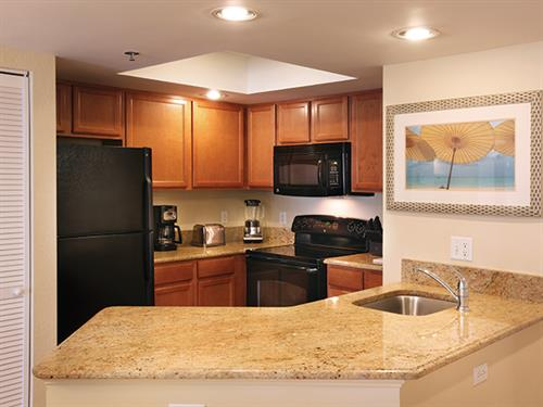 Branson MO, Wyndham Mountain Vista - Kitchen
