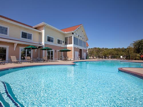 Branson MO, Wyndham Mountain Vista - Outdoor Pool