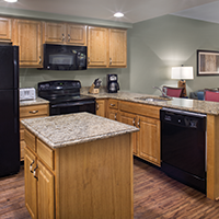 Branson, MO - Wyndham Branson at the Meadows, Three-bedroom Kitchen