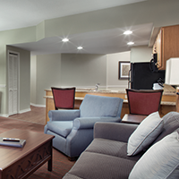 Branson, MO - Wyndham Branson at the Meadows, Three-bedroom Living Area and Kitchen