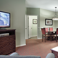 Branson, MO - Wyndham Branson at the Meadows, Three-bedroom Living and Dining Area