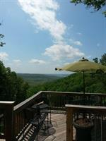 View from the Back Deck at Vino Cellars at the Lake