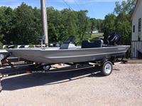 New Alweld boat (many more on site)