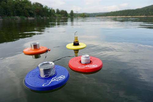 Lake30® Floating Drink Dinghys - popular lake necessities for anyone who loves the lake! Shop online lake30.com