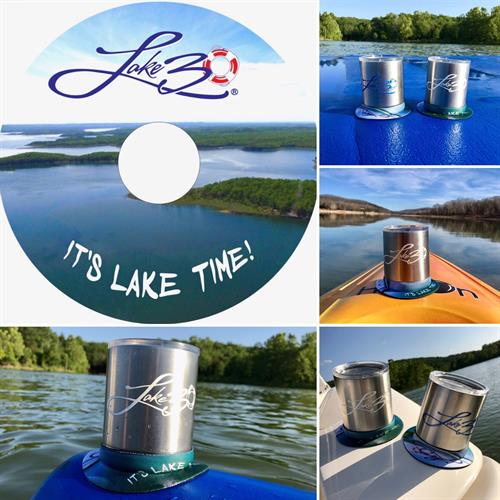 LAKE30® Neoprene Drink Suction Ring - perfect for boats, paddle boards & kayaks!  Shop online Lake30.com