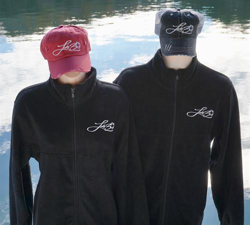 Lake30® Fleece Full Zip Jackets - Apparel for anyone who loves the lake!