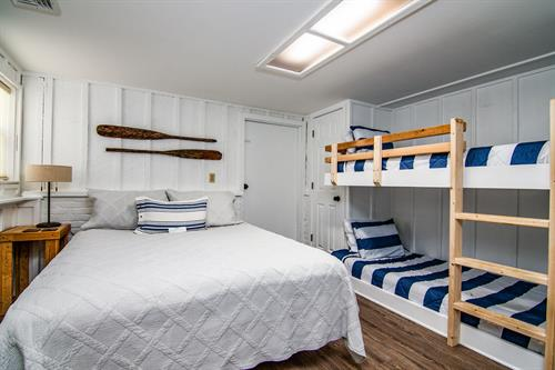 The Boathouse Bunk Room