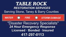 Table Rock Restoration Services & Carpet Cleaning