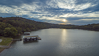Gallery Image Flat_Creek_Drone_SUnset-2.png