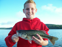 Kids love fishing