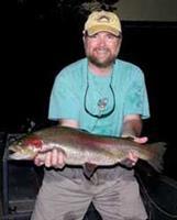 Night fishing on Taneycomo