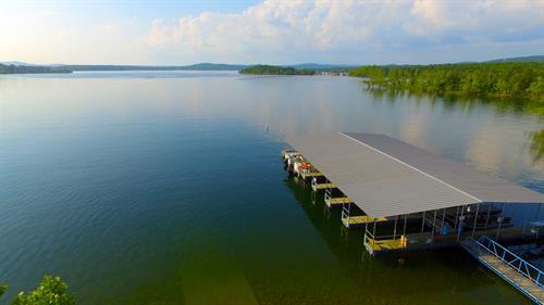 12 slip boat dock
