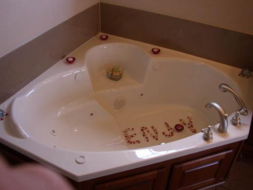 Large Jacuzzi Tub
