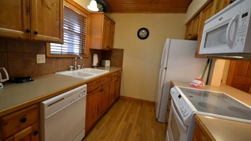 Stonebridge Cabin Kitchen