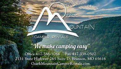 Ozark Mountain Camper Rentals, LLC