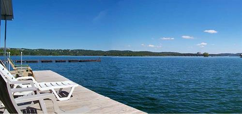 The View from Our Swim Deck at our Dock 2.
