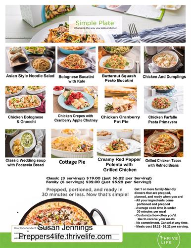 Simply Plate Meals