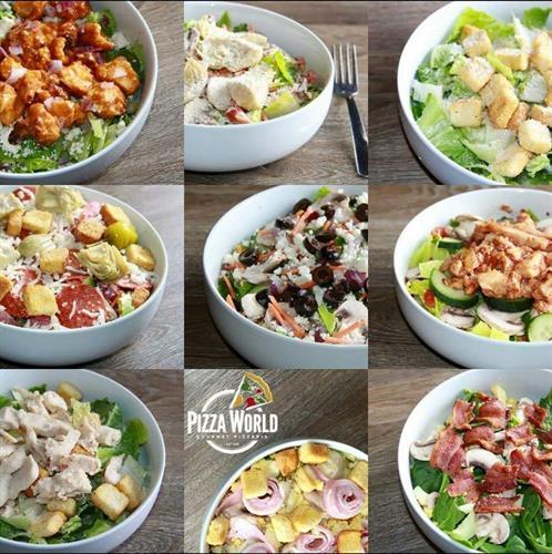 So Many Salads