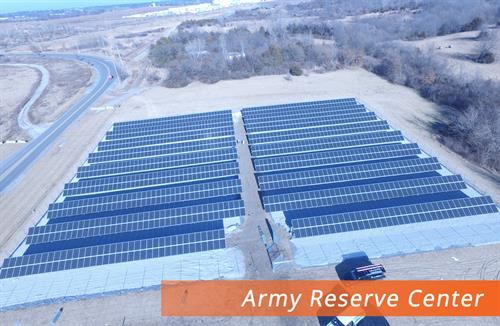 Army Reserve Center Solar Farm Belton MO