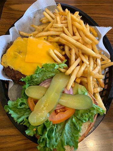 Marvin' Burger, for the BIG burger lover