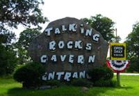 Entrance at Talking Rocks Cavern