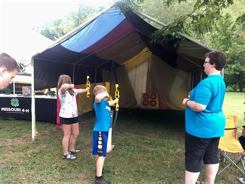 Youth can explore archery and many other interests in 4-H