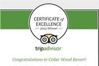 TripAdvisor award winner!