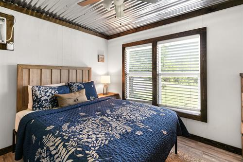 New mattresses and luxury linens are in ever unit.
