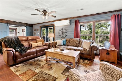 The Hideaway Lodge is perfect for large families.